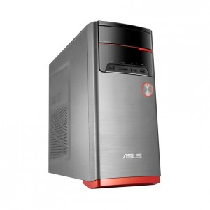 ASUS M32BF-AU001T Mini Tower PC, Black/Red *Refurbished