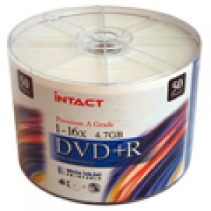 Intact DVD-R 50 Pack Printable Disk