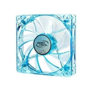 Deepcool Case Fan 120 x 25mm Blue UV Frame with Blue LED