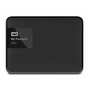 Western Digital My Passport Ultra 1TB External USB 3.0 Hard Drive with Backup Software Black *Free Shipping