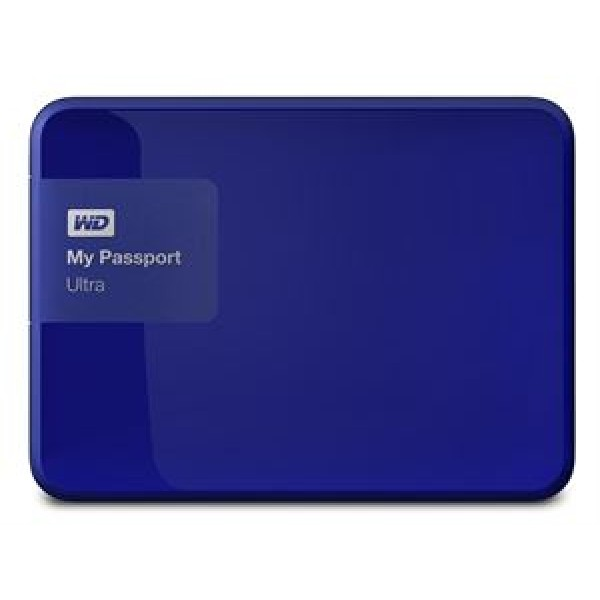 Western Digital My Passport Ultra 1TB External USB 3.0 Hard Drive with Backup Software Blue *Free Shipping