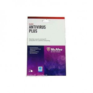 McAfee Anti Virus Plus 2014 OEM (No Media Liscense Key only)